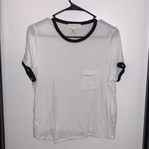 Forever 21 Crop Tee in Size 1X
